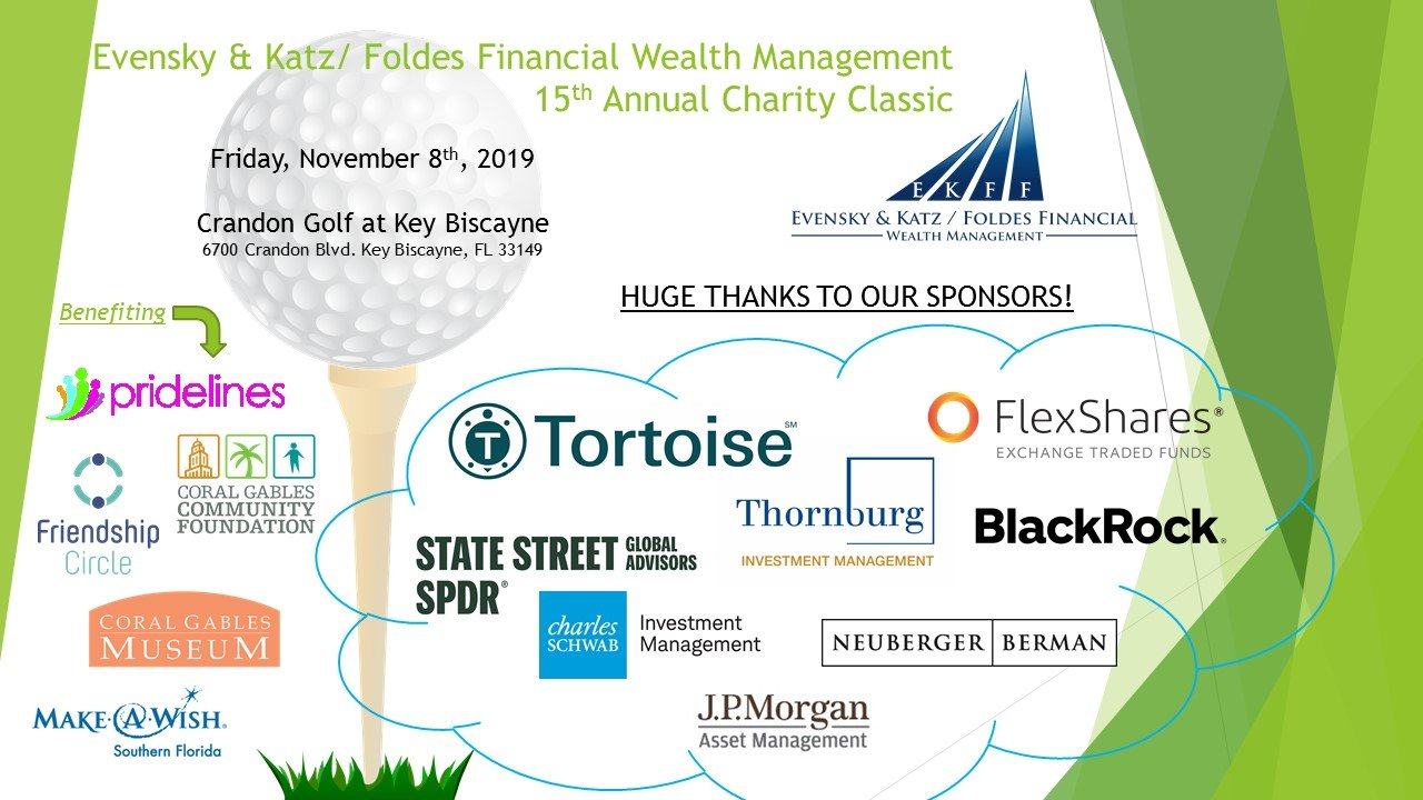 November 8th, 2019 15th Annual Charity Classic Golf Tournament event